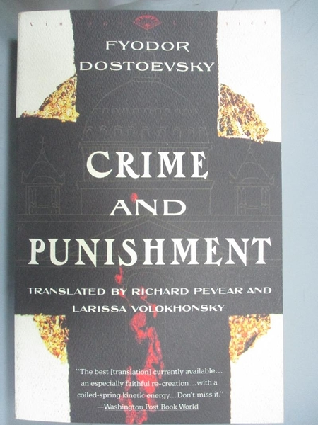 【書寶二手書T1/原文小說_OJX】Crime and Punishment: A Novel in Six Parts With…