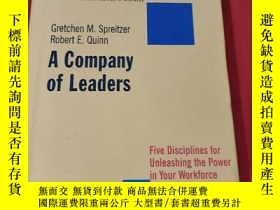 二手書博民逛書店A罕見Company Of Leaders:Five Disciplines fot Unleashing the