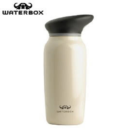 丹大戶外【WaterBox】美國彩繪不鏽鋼水壺 750c.c. 不含雙酚A 型號032-750-1000-008 奶油色
