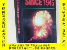二手書博民逛書店英文原版罕見Success in World History Since 1945 (Success Studyb