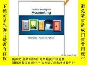 二手書博民逛書店Financial罕見And Managerial Accounting Plus New Myaccountin