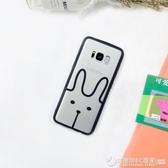 簡約小清新三星s8手機殼s7edge透明可愛s6edge 軟note8卡通女s9 圖拉斯3C百貨