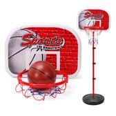 兒童戶外運動鐵桿籃球架可升降投籃框家用室內寶寶皮球類男孩玩具WZ2644 【極致男人】TW