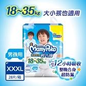 滿意寶寶 瞬潔乾爽輕巧褲男用 XXXL 28片-箱購