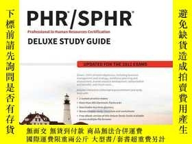 二手書博民逛書店Phr罕見  Sphr Professional In Human Resources Certification