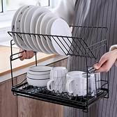 置物架臺面晾放碗筷餐具廚房碗碟收納瀝水架雙層【奇妙商鋪】
