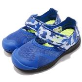 New Balance 休閒鞋 208 NB 藍 涼鞋 魔鬼氈 運動鞋 童鞋 小童鞋【PUMP306】 KA208BUIW