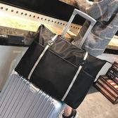 運動包出差短途旅行包男女手提側背斜背行李包旅游行李袋大容量健身包潮 愛麗絲精品