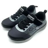 《7+1童鞋》中童 SKECHERS 97685L/CCBK 輕量 透氣 慢跑鞋 運動鞋 B983 灰色