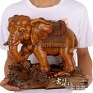 招財大象擺件一對家居飾品風水客廳酒櫃辦公室桌面裝飾擺設工藝品  YTL