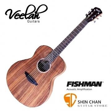 Veelah旅行吉他 mini camper 36吋旅行小吉他/電木吉他 MC-KOAE/全KOA相思木/面單板 贈原廠袋