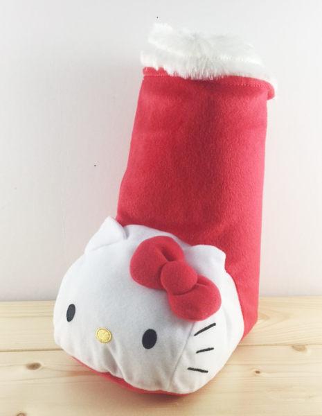 【震撼精品百貨】Hello Kitty 凱蒂貓~聖誕靴子擺飾-KITTY造型-紅頭L