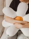 北歐民宿輕奢花朵型沙發抱枕網紅床頭靠枕日式靠墊 ATF polygirl
