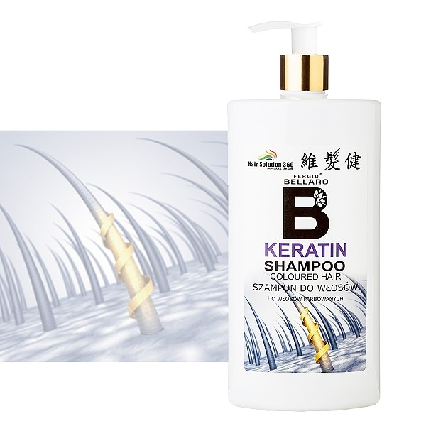 髮質調理洗髮精(角蛋白配方)500ml【維髮健】