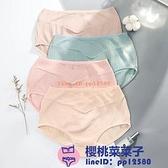 4條裝孕婦內褲純棉低腰懷孕期產后褲頭三角褲孕婦內衣夏季短褲女【櫻桃菜菜子】