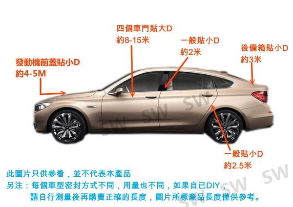 DJ005小D膠條-汽車專用12X10mm(背膠-3米(約300公分)售)汽車隔音氣密條 D型門縫條D型密封條 3M膠條