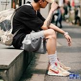 運動短褲男寬鬆彈力針織休閒五分褲籃球慢跑褲【英賽德3C數碼館】