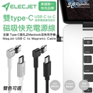 ELECJET 蘋果 電腦 USB C to C 雙 Type-C Macbook 5A 磁力 磁吸 快速 充電線