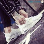 男鞋運動韓版白鞋跑步潮鞋洛麗的雜貨鋪