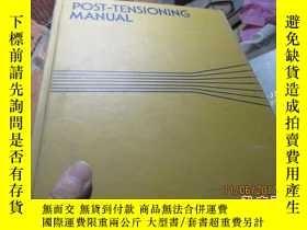 二手書博民逛書店post-tensioning罕見manual 精 805719