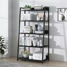 書架簡約現代落地鋼木置物架多層鐵藝組合梯形儲物架客廳展示架子 快速出貨