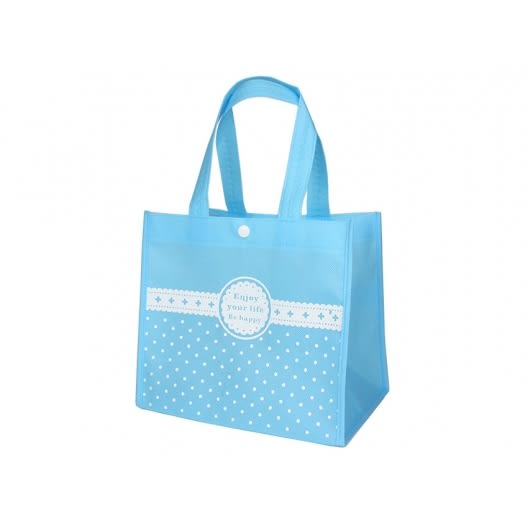 水藍色 蛋糕袋 手提袋 烘焙袋 環保袋 不織布袋 無紡袋
