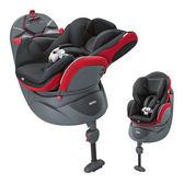 Aprica 平躺型嬰幼兒汽車座椅 Fladea DX 鸚鵡紅
