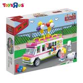 玩具反斗城 BANBAO 史努比系列 冰淇淋車