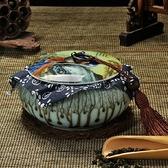 茶葉罐-純手工打造精美繪製陶瓷泡茶品茗普洱茶罐4款69ab40[時尚巴黎]