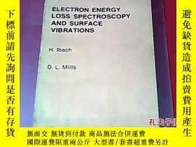 二手書博民逛書店英文原版罕見electron energy loss spect