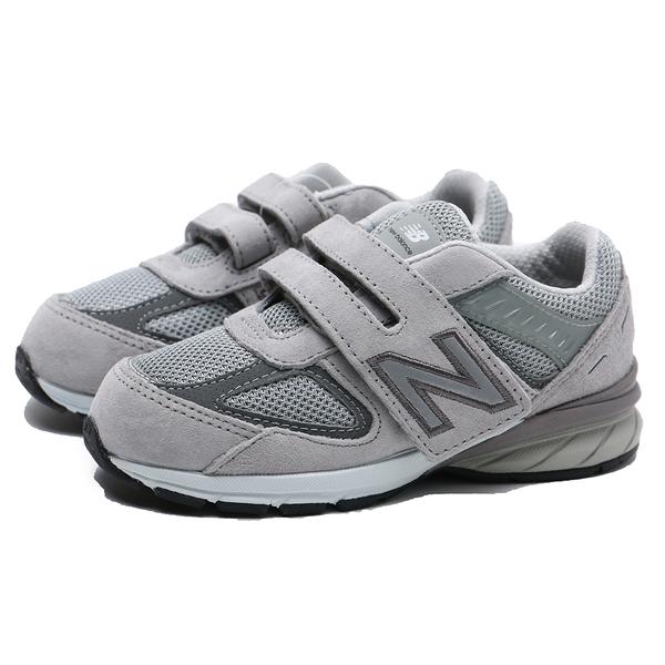 NEW BALANCE NB990 灰麂皮 反光logo 魔鬼氈魔鬼氈 運動鞋 小童 (布魯克林) IV990GL5
