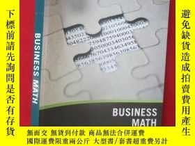 二手書博民逛書店Wiley罕見Pathways Business Math, F