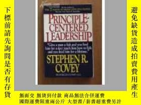 二手書博民逛書店Stephen罕見R. Covey:Principle-Cent