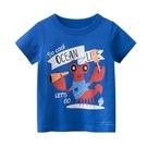 可愛水裡生物短袖上衣 龍蝦 童裝 短袖上衣