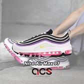 Nike 休閒慢跑鞋 Wmns Air Max 97 白 紫 桃紅 女鞋 運動鞋【ACS】 921733-106