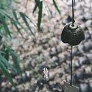 日本巖手南部鑄鐵風鈴 拈花復古鐵器鈴鐺 日式和風寺廟祈福掛飾【巴黎世家】