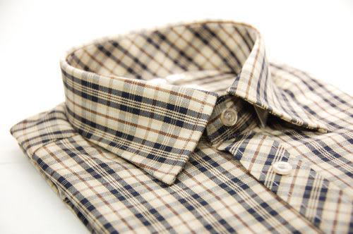 【金‧安德森】經典中小格限量窄版長袖襯衫