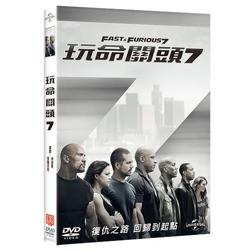 玩命關頭7 DVD Fast & Furious 7