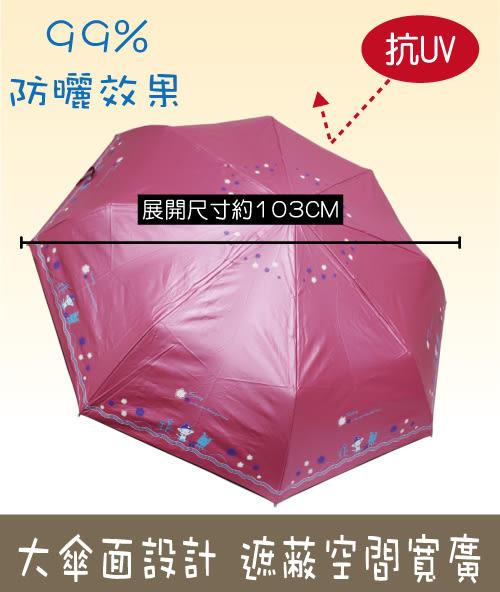 【防曬雨傘】抗UV色膠自動傘-大傘面