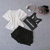 萬聖節快速出貨-健身房瑜伽服套裝女速乾運動跑步休閒