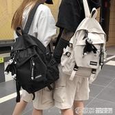 雙肩包雙肩包書包女韓版高中大容量百搭雙肩包男大學生時尚潮流ins風情侶背包