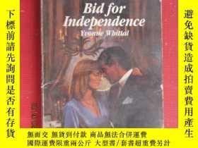 二手書博民逛書店Bid罕見For INdependence Yuonne Wbi