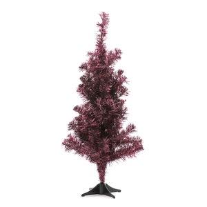 風格聖誕樹 酒紅 60cm