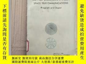 二手書博民逛書店1963罕見PTGAP international symposium space telecommunicati