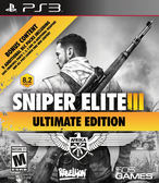 PS3 Sniper Elite III Ultimate Edition 狙擊之神 3 終極版(美版代購)