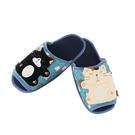 淘氣啵啵貓室內拖鞋/拼布包包