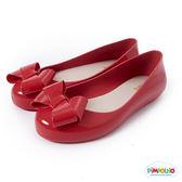PIMPOLHO 甜美蝴蝶結娃娃鞋-童-紅色