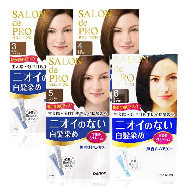 日本 DARIYA塔莉雅 沙龍級無味型白髮染髮劑 (多色任選)【UR8D】