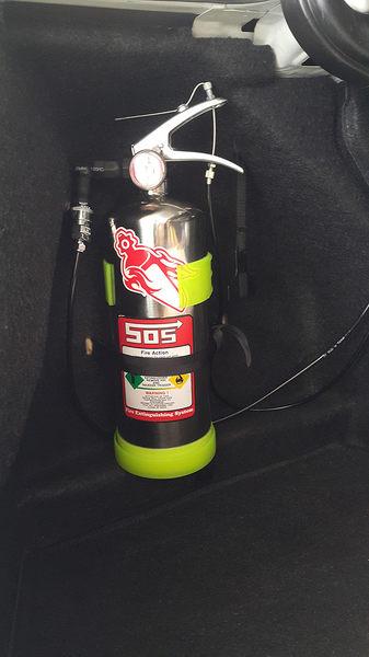 505汽車用滅火裝置 各廠牌車種均可安裝 汽車引擎室滅火系統  236潔淨高效能環保氣體 免換藥