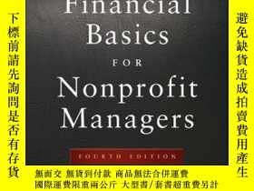 二手書博民逛書店Streetsmart罕見Financial Basics for Nonprofit Managers, 4th